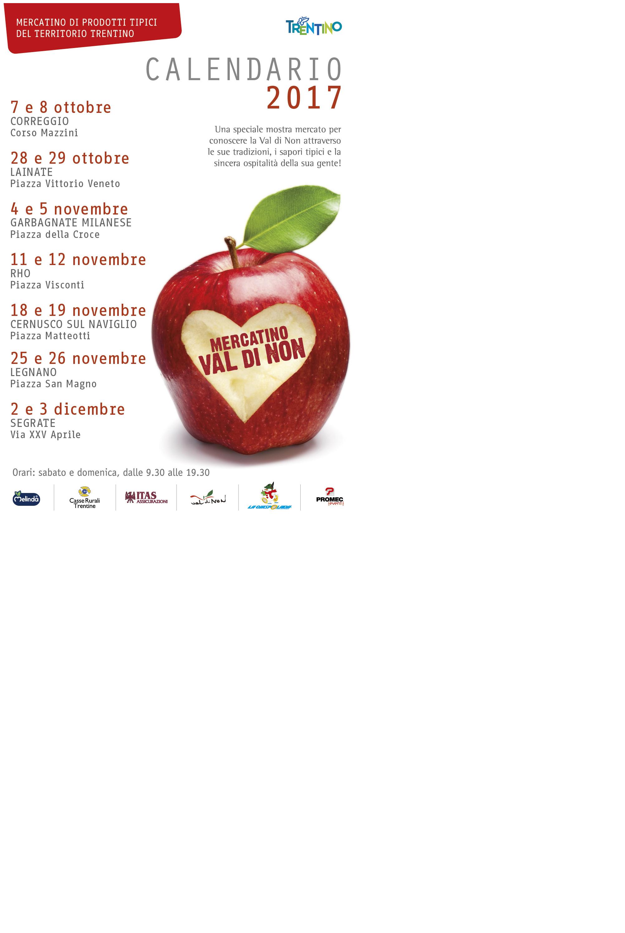 Calendario Podismo Veneto Ottobre 2020.Mercatini Val Di Non 2017 Ciaspolada